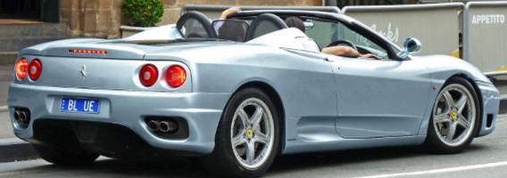 """""""Ferrari F360 Spider"""" Lietuvoje pavairuoti galima už 45 eurus"""