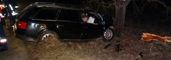 Penkios dažniausios situacijos, kai automobilis nulekia nuo kelio