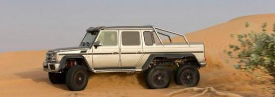 "Nuspręsta stabdyti išskirtinių ""Mercedes–Benz G63 AMG 6×6"" modelių gamybą"