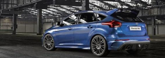 """Ford Focus RS"": keturi varomi ratai ir 330 AG"