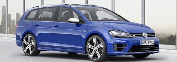 """Prasideda naujojo 300 AG """"Volkswagen Golf R"""" universalo pardavimai"""