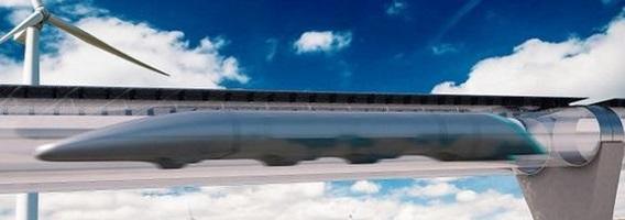 Subgarsinis traukinys: 1 200 km/val. greičiu lėksime jau po 10 metų