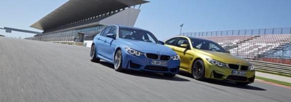 """""""Autobild"""" bandymas: BMW M3 ar M4?"""