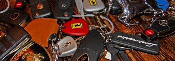 Gražiausi automobilių rakteliai