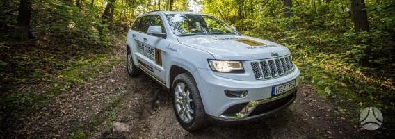 """Amerikiečio ir italės vaikas """"Jeep Grand Cherokee"""""""