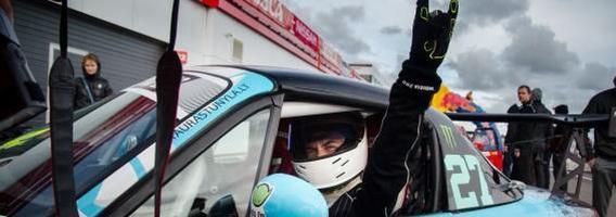 "Tauras Tunyla antro ""Autoplius Fast Lap"" etapo Estijoje metu"