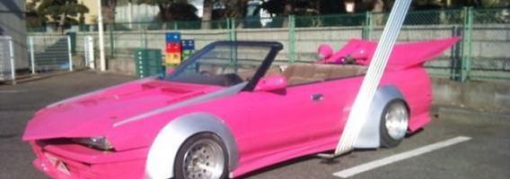 """""""Bosozoku"""" stiliaus automobiliai"""