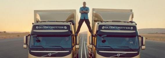 """Geriausios """"Volvo trucks"""" reklamos"""