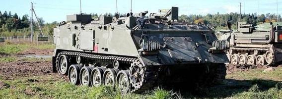 Lietuvoje parduodamas šalyje įregistruotas ir civiliniam naudojimui tinkamas karinis šarvuotis