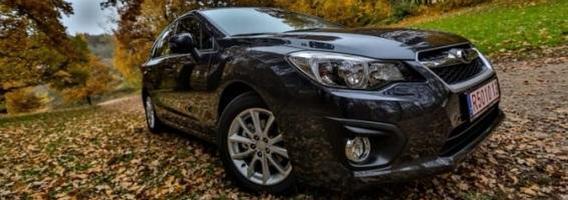 """""""Subaru Impreza"""": namų šeimininkės apie ralį nesvajoja"""