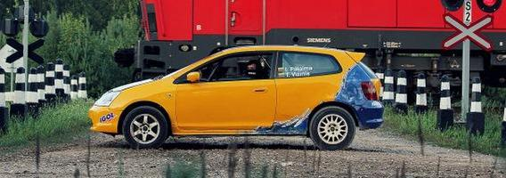 """Igno Palaimos ir Tomo Vižinio ekipažas į ralį grįžta su """"Honda Civic Type-R"""""""