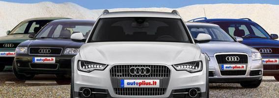 """Už naują """"Audi A6"""" – 222 """"senukai"""""""