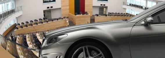 Svajonių automobilis brangesnis už Seimo nario mandatą