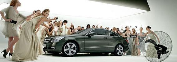 """Mercedes-Benz"": elegantiški ir reklamose"