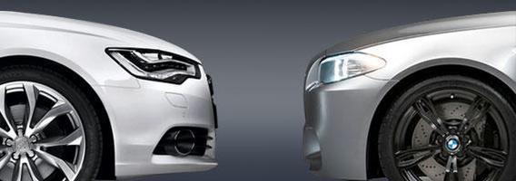 Audi prieš BMW