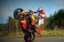 """""""Stuntriding"""": triukai atliekami su motociklais"""