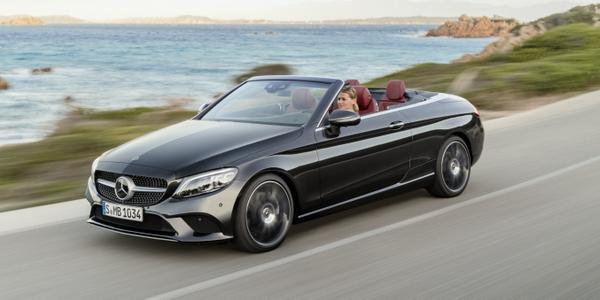 Mercedes-Benz C klasė kabrioletas