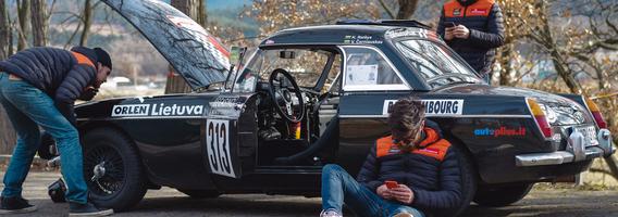 """Po alinančių dviejų dienų lenktynių iš Vokietijos, """"Flameris Racing"""" lenktynininkai pasiekė Monte Karlą"""