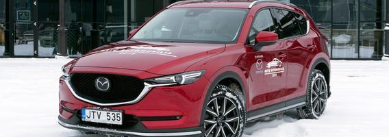 "2018 Lietuvos metų automobilis ""Mazda CX-5"" – žingsnis ""Priemium"" klasės link"