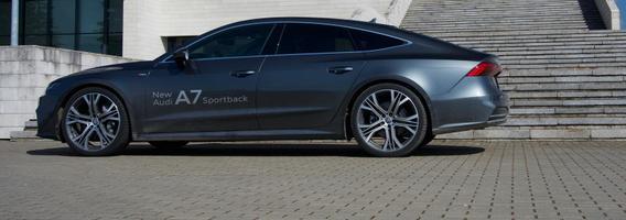 """Antros kartos """"Audi A7"""": kur grožis susipina su technologijom"""