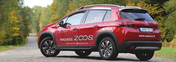 """Mada ir praktiškumas – esminiai """"Peugeot 2008"""" ingredientai"""