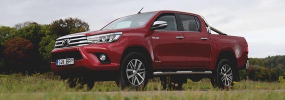 """Nesunaikinamo pikapo genai užkoduoti """"Toyota Hilux"""" DNR"""