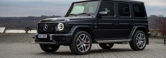 """Mercedes-Benz G63 AMG"": rojus salone, pragaras – po variklio gaubtu"