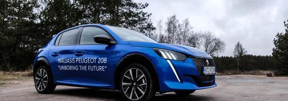 """""""Peugeot 208"""": mažoje pakuotėje telpa stilius, inovacijos ir įelektrintos galimybės"""