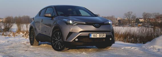 """Naujasis """"Toyota C-HR"""" – tai, ko gamintojui trūko 10 metų"""