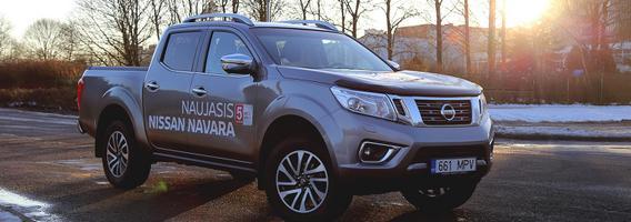 """Revoliucinis """"Nissan Navara"""" – daugiau nei tik pikapas"""