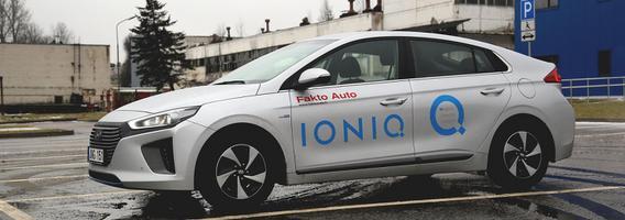 """""""Hyundai IONIQ"""" atverčia naują puslapį hibridinių automobilių segmente"""